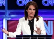 (Nov. 23) - U.S. Representative Michele Bachmann (R-Minn.) speaks on Tuesday at a Republican presidential debate in Washington. Bachmann expressed concern over the security of Pakistan's nuclear arsenal in defending U.S. financial support for the South Asian state (AP Photo/Evan Vucci).
