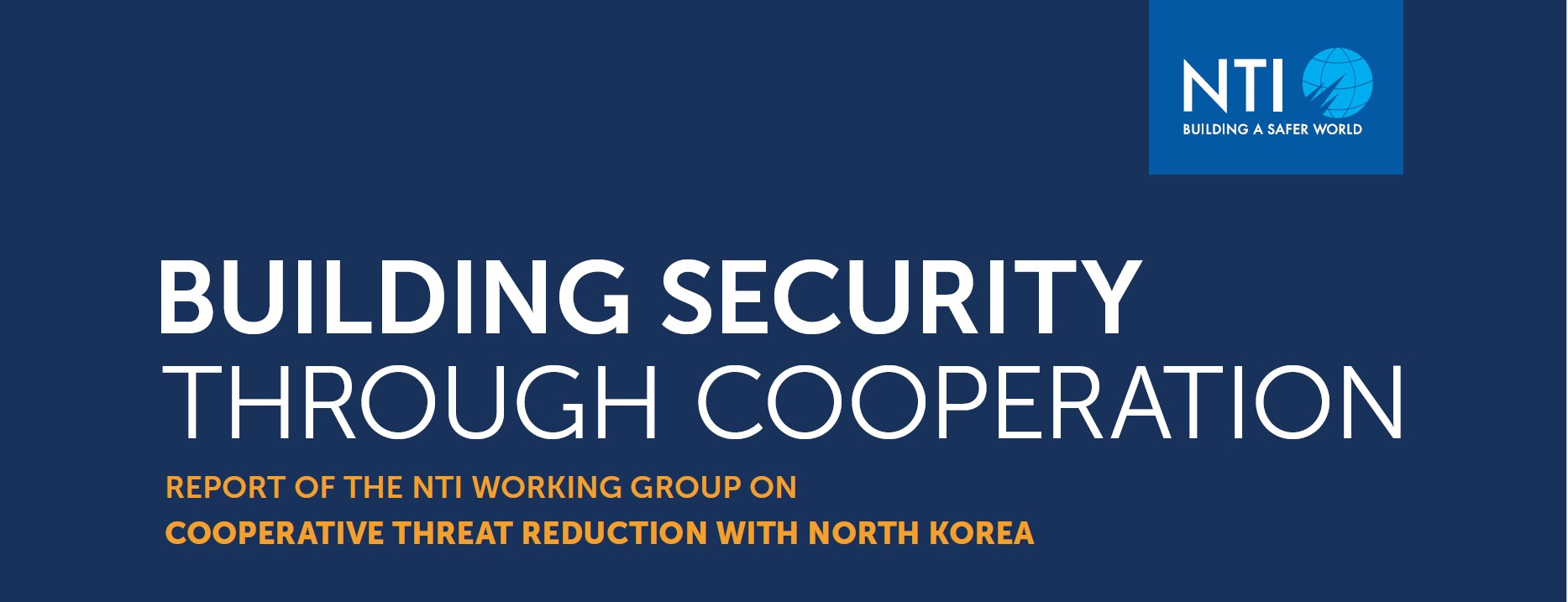 Cooperative Threat Reduction Could Advance North Korean