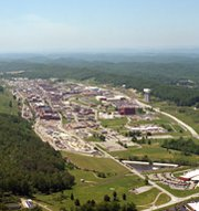 "The Y-12 National Security Complex in Tennessee. ""Safeguards and security"" remain a ""significant management challenge"" for the Energy Department following a high-profile 2012 break-in at the site, the agency inspector general said in a new report (U.S. National Nuclear Security Administration photo)."