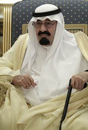 Saudi King Abdullah, shown in May 2012, has reportedly warned that his nation would seek nuclear weapons if Iran acquired an atomic arsenal. Such statements have worried U.S. lawmakers as the Obama administration presses forward on a possible nuclear trade pact with Riyadh (AP Photo/Hassan Ammar).