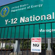 The Y-12 National Security Complex in Tennessee. The National Nuclear Security Administration has acted to centralize oversight of nuclear-weapon security operations in response to a 2012 break-in at the nuclear arms facility, the agency's leader said on Wednesday (AP Photo/Erik Schelzig).