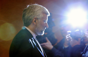 "Iranian nuclear negotiator Saeed Jalili speaks to reporters on Wednesday after two days of talks with representatives of six world powers in Kazakhstan. The governments called on Iran to ""reduce the readiness"" of operations at one uranium enrichment plant, one source said (AP Photo/Pavel Mikheyev)."