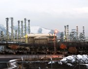 "Iran's Arak heavy-water reactor complex, shown in 2011. An Iranian government spokesman in a Wednesday article said it is ""too late"" to potentially convert the unfinished facility to a light-water site, as suggested by some international observers."