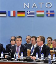 NATO Secretary General Anders Fogh Rasmussen opens a defense ministers' meeting in Brussels on Wednesday. Turkey reportedly is becoming more concerned about the ramificiations to its defense ties with NATO members if it goes through with a plan to purchase Chinese missile interceptors.