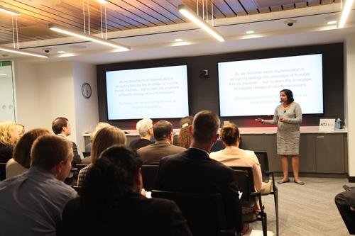 Dr. Reshma Shetty at the NTI Seminar