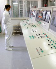 A technician works inside Iran's Isfahan uranium conversion facility in 2005. Concerns lingered in Congress over nuclear talks with Iran after the Obama administration on Thursday circulated plans for implementing a nuclear deal with the Middle Eastern nation.