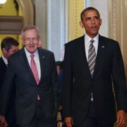 Senate Majority Leader Harry Reid and President Obama are proving to be a formidable team against the push for new Iran-sanctions legislation.