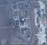 North Korea's Yongbyon nuclear site as seen by satellite in 2008. Space-based imagery taken a month ago indicates that Pyongyang is aggressively moving forward with previously announced plans to expand its plutonium-production capabilities at the complex.