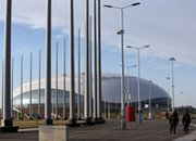 Security personnel walk through Russia's Sochi Olympic Park earlier this month. A potential suicide bomber sought by authorities in Sochi could be a participant in a broader offensive planned against next month's Olympics, a former U.S. counterterrorism adviser said on Tuesday.