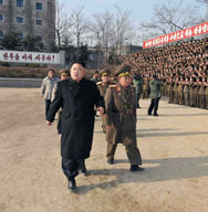 North Korean leader Kim Jong Un inspects the command of the Korean People's Army in this undated picture, released earlier this month by official state media. The head of U.S. military forces in the Pacific said Kim does not appear to consistently make decisions in a rational manner.