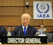 International Atomic Energy Agency Director General Yukiya Amano, shown in November, on Friday said he hopes in March to unveil new steps in a long-stalled investigation into Iran's nuclear program.
