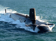 The British ballistic missile submarine HMS Vigilant. A new U.K. government report explores alternatives to its plan for replacing today's vessels, but finds none are as cost-effective (Royal Navy photo).
