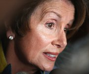 House Minority Leader Rep. Nancy Pelosi (D-Calif.) speaks to the press in Chicago on June 4. The lawmaker on Thursday argued against working with Iran to combat extremists in Iraq.