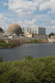The North Anna Power Station was temporarily shut down after losing offsite power following an earthquake in August 2011 near Mineral, Va. A National Academy of Sciences report on Thursday said U.S. atomic safety regulations do not go far enough in addressing the risk of a reactor meltdown caused by natural disaster.