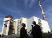 The reactor building at Iran's Bushehr nuclear-power plant, shown in 2010. Tehran has demanded permission to produce its own fuel for the facility under a potential agreement with six other governments.