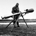 M-388 Davy Crockett nuclear weapon mounted to a recoilless rifle