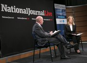 National Journal Contributing Editor James Kitfield discusses nuclear security with National Security Council staffer Elizabeth Sherwood-Randall at a Wednesday forum co-sponsored by the Nuclear Threat Initiative and National Journal LIVE.
