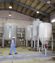 A section of Iran's Arak heavy-water reactor facility, shown in 2004. Iran and six world powers on Wednesday discussed possible means to alleviate international fears about the unfinished site, which could generate plutonium with potential applications in any nuclear-arms production effort.