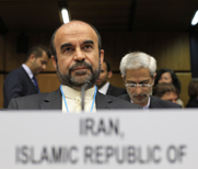 Iran's ambassador to the International Atomic Energy Agency, Reza Najafi, shown in September at the U.N. atomic agency's headquarters in Vienna. The Washington-based Institute for Science and International Security on Monday said Iran has continued activities at a military base suspected to have hosted nuclear weapon-related experiments.