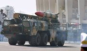 A Pakistani nuclear-capable Hatf 2 ballistic missile is displayed during a 2007 military parade in Islamabad. RAND terrorism expert Brian Jenkins said Washington and other world powers should assess a wide range of response options in case atomic arms go missing (AP Photo/Anjum Naveed).