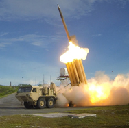 A Terminal High Altitude Area Defense missile is successfully launched in a 2013 intercept test over the Pacific Ocean. South Korea on Thursday rebutted a news report that it was considering hosting one of the U.S. missile defense platforms.