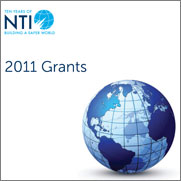 "Cover for the ""NTI 2011 Grant Report"" report"