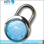 "Cover for the ""NTI 2012 Annual Report"" report"