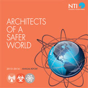 "Cover for the ""NTI 2013-2014 Annual Report"" report"