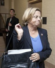 House Foreign Affairs Committee Chairwoman Ileana Ros-Lehtinen (R-Fla.), shown in 2011. Neither the Florida Republican nor the panel's ranking Democrat, the just-defeated Howard Berman (Calif.), will lead the committee beginning next year, raising questions about the prospects for nuclear trade legislation they advocated (AP Photo/Harry Hamburg).
