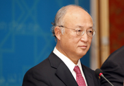 International Atomic Energy Agency Director General Yukiya Amano, shown on Sunday in Baghdad. The U.N. nuclear watchdog is expected in a new report this week to note Iranian advances in preparing for full operations at a uranium enrichment plant near Qum (AP Photo/Karim Kadim).