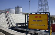 Iran's heavy-water reactor site at Arak, shown in 2004, is expected to begin operations in the first three months of 2014, the International Atomic Energy Agency said in a new report (AP Photo/Fars News Agency).