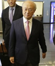 "International Atomic Energy Agency Director General Yukiya Amano on Tuesday shown in Vienna after his arrival from Tehran. He reportedly said Iran has not made ""radical"" changes to its nuclear program in recent months (Dieter Nagl/AFP/Getty Images)."