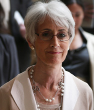 Under Secretary of State for Political Affairs Wendy Sherman pictured during a Sept. 5 visit to Capitol Hill. On Thursday she told the Senate Foreign Relations Committee that Congress should not approve new sanctions against Iran before upcoming six-nation talks with the Middle Eastern nation about its nuclear program (Alex Wong/Getty Images).