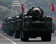 North Korean missiles, shown on display during a 2010 military parade in Pyongyang. Seoul would act on the assumption that the North possesses a missile-capable nuclear warhead in the absence of contradicting evidence, a senior South Korean official said on Friday (AP Photo/Vincent Yu).