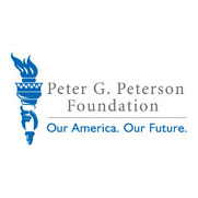 Logo of Peter J. Peterson Foundation