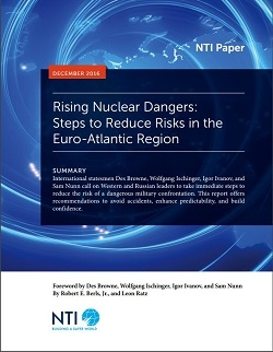 Rising Nuclear Dangers report cover thumbnail