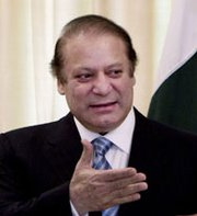 Pakistani Prime Minister Nawaz Sharif, shown last month, on Thursday endorsed a plan calling for further development of his country's nuclear-arms capabilities (AP Photo/B.K. Bangash).