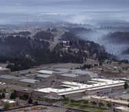 The Los Alamos National Laboratory in New Mexico, shown in a 2000 file photo. A new National Academies of Sciences report calls attention to some potential problems with Energy Department oversight of this and other U.S. nuclear-weapons labs (AP Photo/ Jake Schoellkopf).
