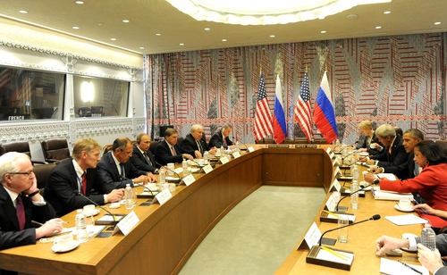US-Russia Meeting