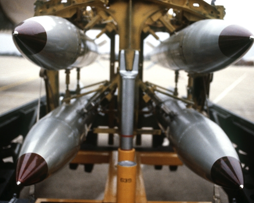 B-61 Nuclear Gravity Bombs