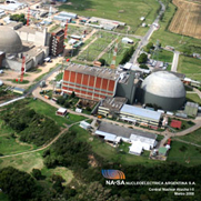Atucha I and II nuclear plants