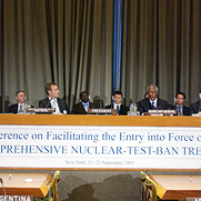 Conference on Facilitating the Entry-into-Force of the Comprehensive Nuclear-Test-Ban Treaty (CTBT)
