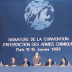 Signing ceremony for the Chemical Weapons Convention in Paris, January 1993