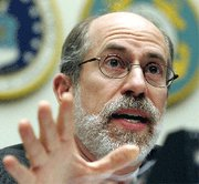 (Feb. 23) -Former Pentagon official Frank Gaffney has criticized President Barack Obama's nuclear arms control goals (Alex Wong/Getty Images).