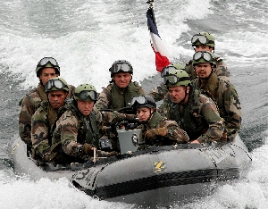 (May. 1) -French soldiers conduct a WMD interdiction exercise in 2007. The U.S. State Department warned in a report yesterday that WMD terrorism remains a major threat (Koichi Kamoshida/Getty Images).