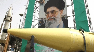 (Jun. 10) -Iran displays its Shahab missiles in 2008. With outside help, the Middle Eastern state by 2015 could acquire missiles capable of hitting the United States, a new U.S. Air Force report says (Atta Kenare/Getty Images).