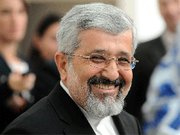 (Nov. 23) -Iranian Ambassador to the International Atomic Energy Agency Ali Asghar Soltanieh, shown in October, suggested yesterday a deal was still possible on enrichment of its uranium (Samuel Kubani/Getty Images).