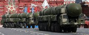 (Dec. 1) -Russian Topol-M ballistic missiles, shown at a parade in Moscow last year. Washington has reportedly agreed to end continuous monitoring at the facility that produces the Topol-M and other missiles (Yuri Kadobnov/Getty Images).