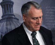 (Dec. 23) -U.S. Senator Jon Kyl (R-Ariz.), shown at a news conference on Tuesday following a Senate vote to end debate on ratifying New START. Experts differed on how Kyl's opposition to a vote on the treaty by the outgoing Congress will affect his future influence on national security matters (Mark Wilson/Getty Images).