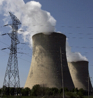 (Jan. 12) -The Exelon Byron Nuclear Generating Stations in Byron, Ill., shown in 2007. The U.S. Nuclear Regulatory Commission last month indicated it would explore the possibility of mandating nuclear proliferation risk evaluations by firms applying for atomic facility licenses (Jeff Haynes/Getty Images).